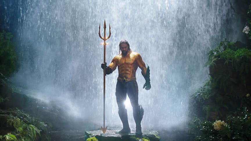 video extendido de Aquaman