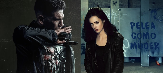 The Punisher y Jessica Jones