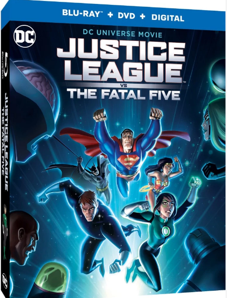 Justice League vs. The Fatal Five Blu-ray