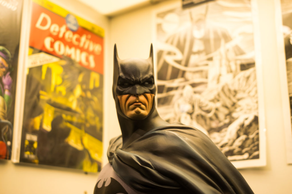 Evento Batman 80 años en Meridiana Comics