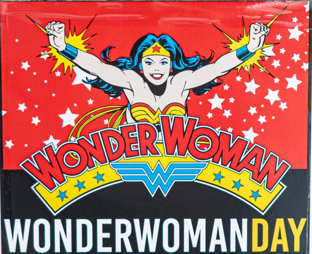 Fotos Wonder Woman day