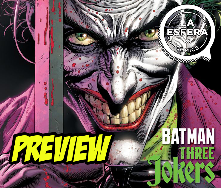 Preview de Batman Three Jokers
