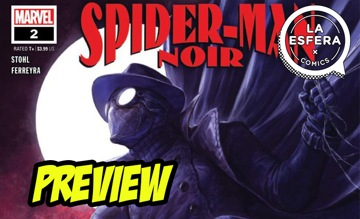 Preview de Spider-Man Noir