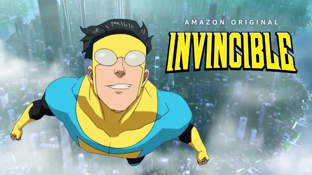 Invincible lanza su trailer.